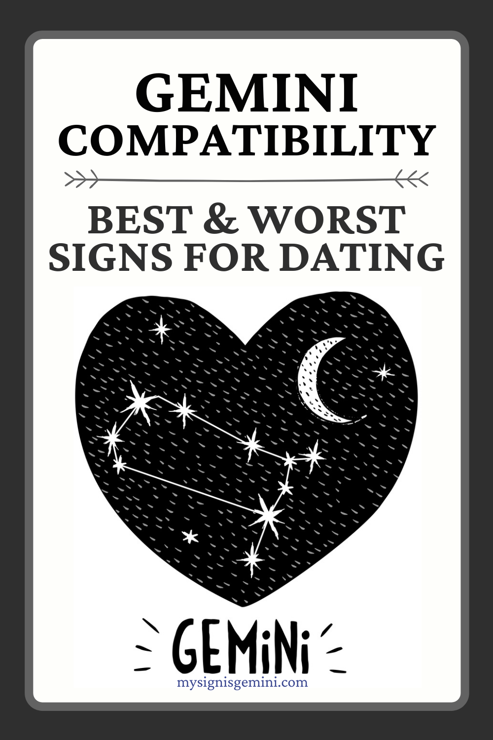 Gemini Compatibility For Love_ Best And Worst Signs For Dating #gemini #geminilove #geminisign #astrology #zodiac