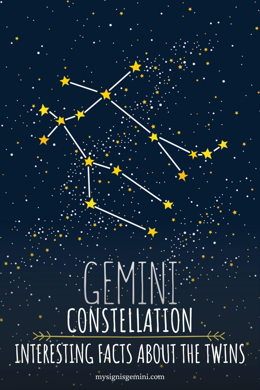 Gemini Constellation_ Interesting Facts About the Gemini Twins #gemini #zodiac #astrology