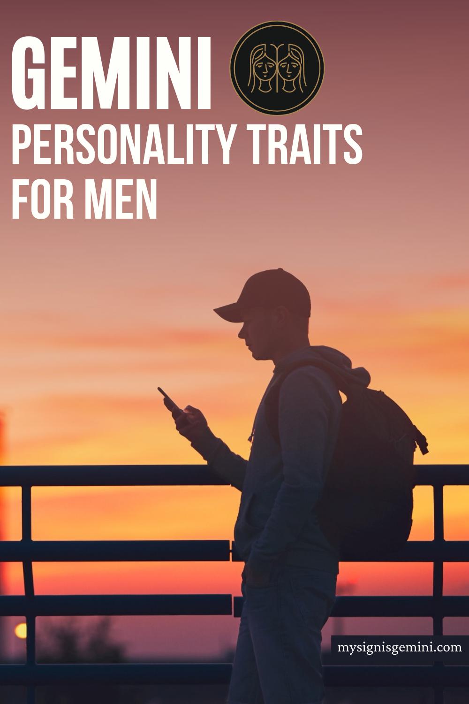 Gemini Personality Traits For Males: Common Qualities Of Gemini Men #gemini #geminisign #astrology #zodiac #geminis
