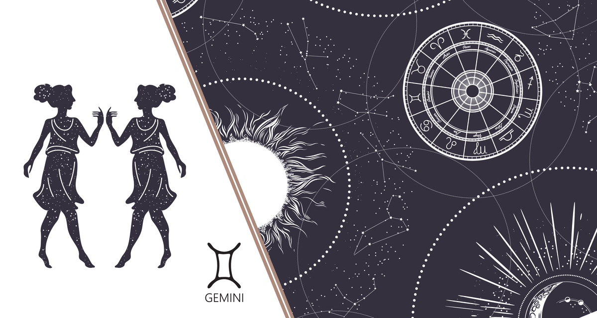 Gemini Symbol: Learn The Origin and Meaning For The Gemini Sign
